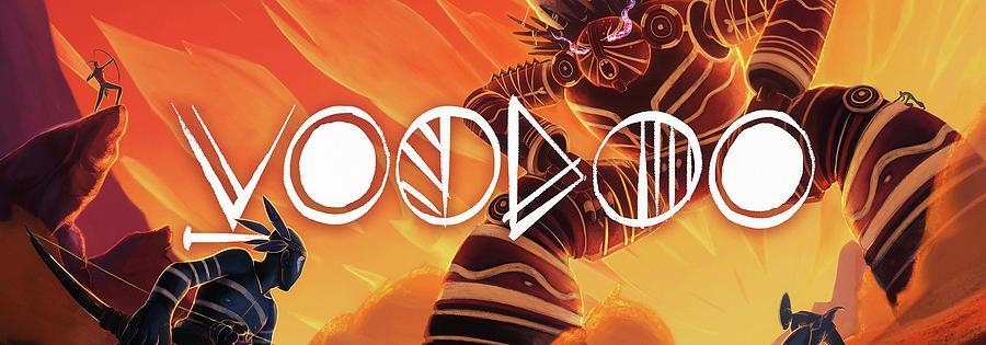 Web Digital Art - Voodoo by Elijah Clark