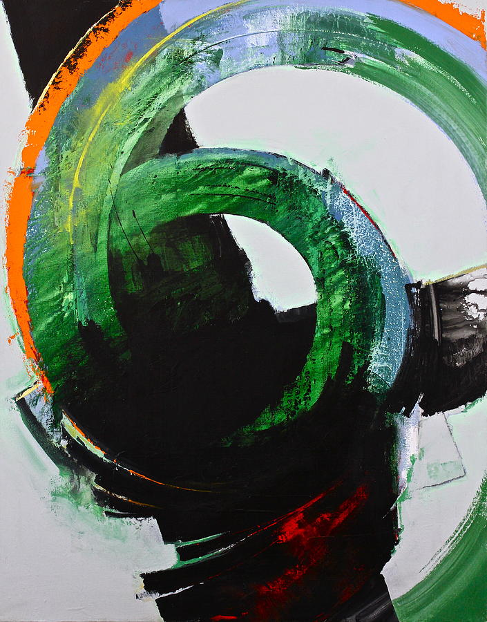 Abstract Paintings Painting - Vortex by Cliff Spohn