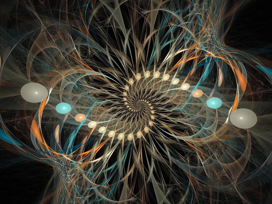 Abstract Digital Art - Vortex by David April