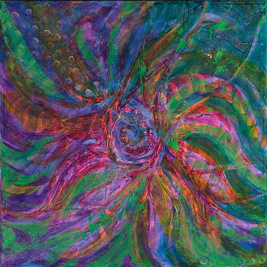 Space Painting - Vortex by Jeffrey Allyn