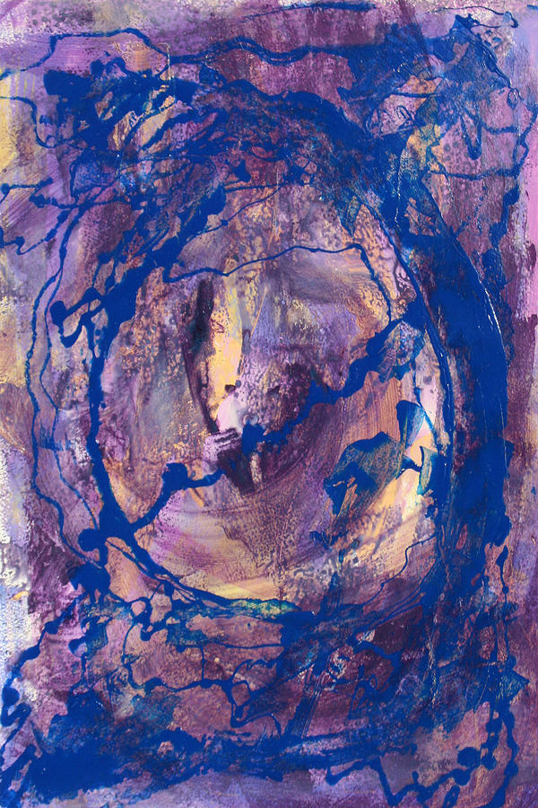 Abstract Painting - Vortex by Mordecai Colodner