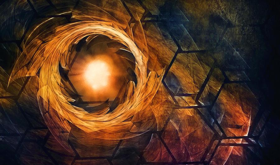 Vortex Of Fire Photograph