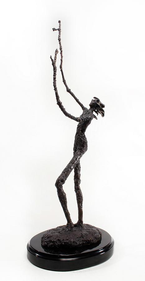 Sculpture Sculpture - Votary Of The Rain A Sculpture By Adam Long by Adam Long