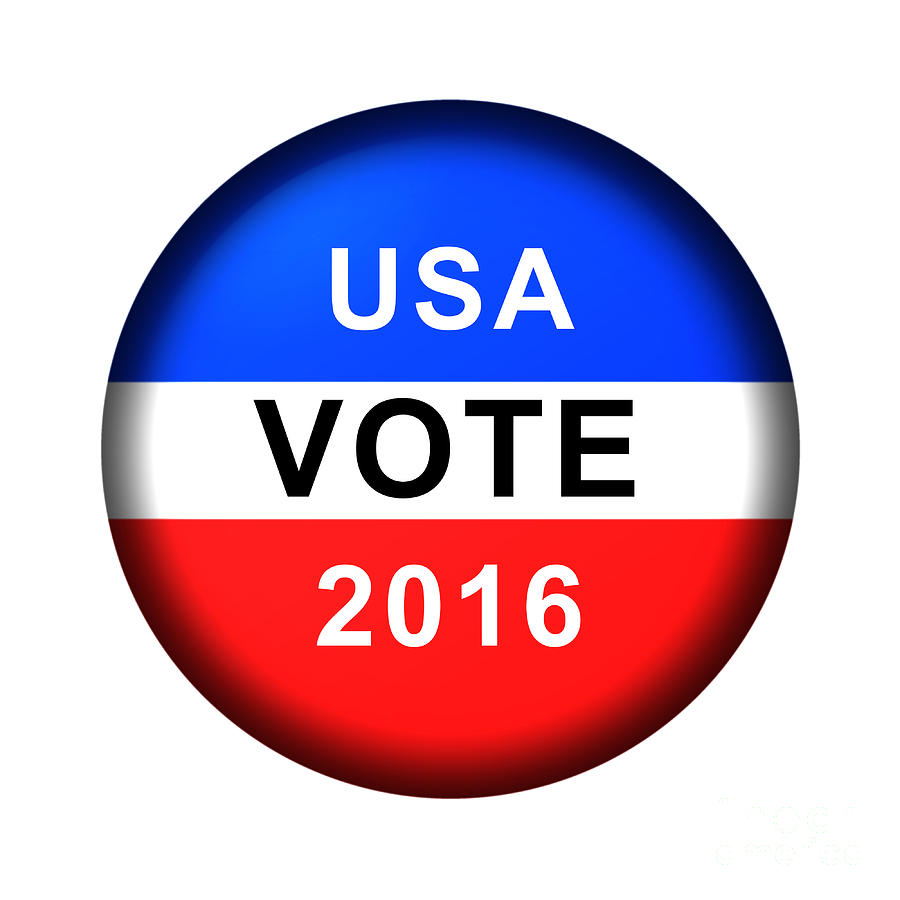 Vote Button 2016 by Henrik Lehnerer