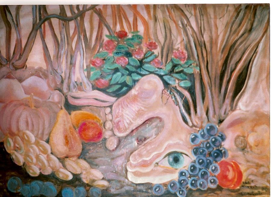 Landscape Painting - Berri Bnutiun by Art Hrasarkos
