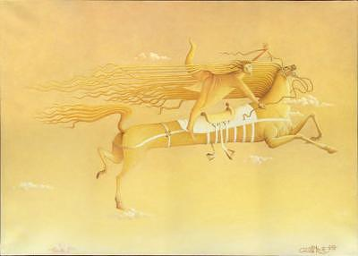 2003 Painting - Voyage To Mars by Giuseppe Mariotti