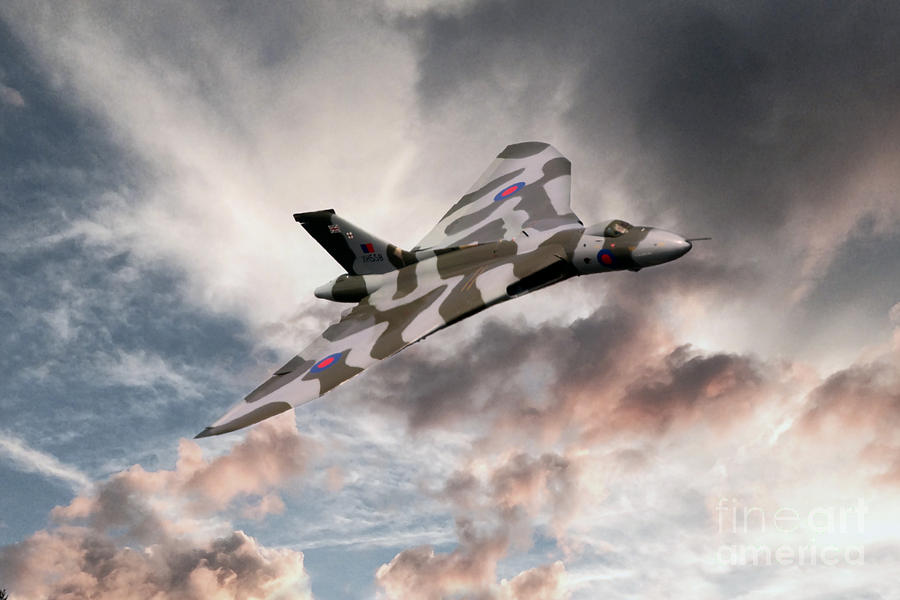 Vulcan Sky Digital Art
