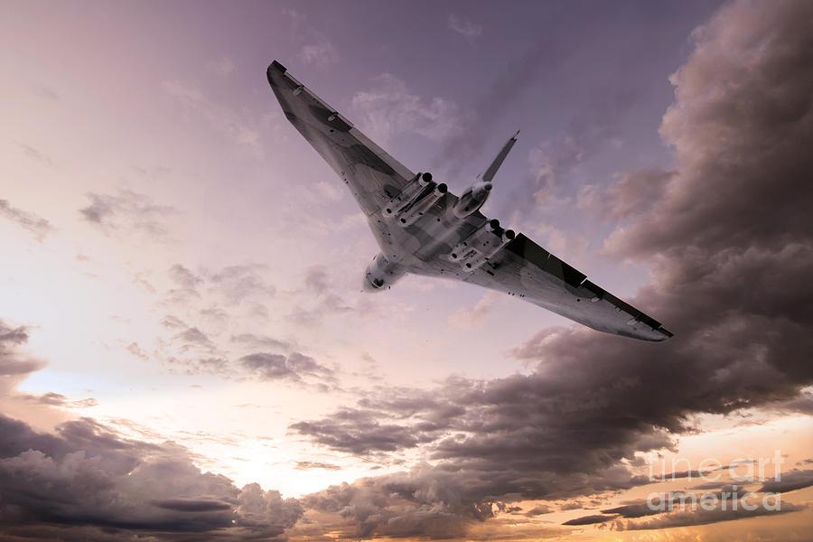 Vulcan The Final Flight Digital Art