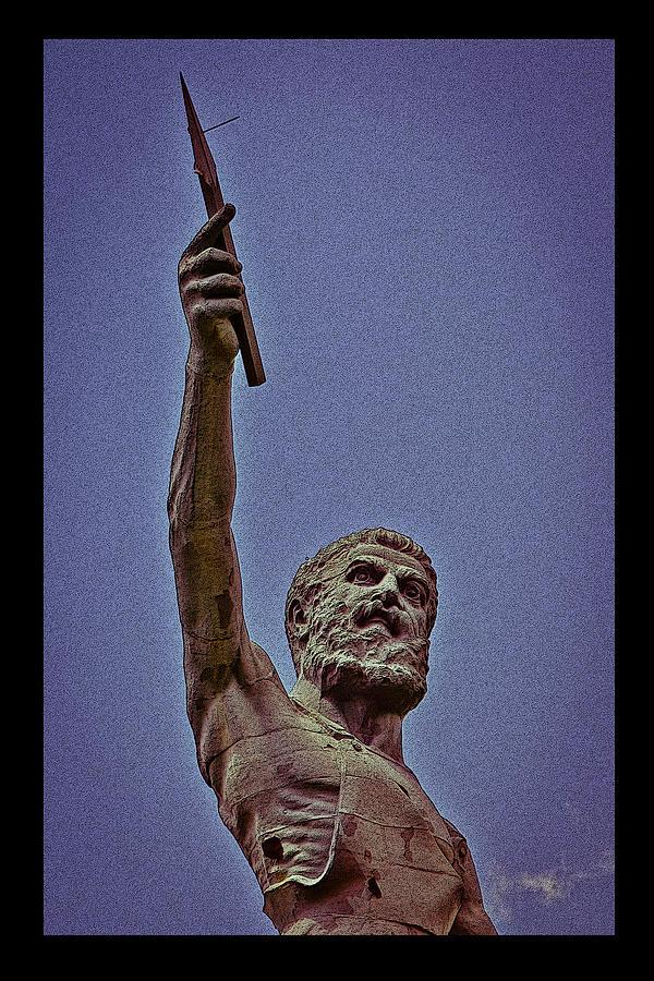Vulcan Spear Poster by Just Birmingham