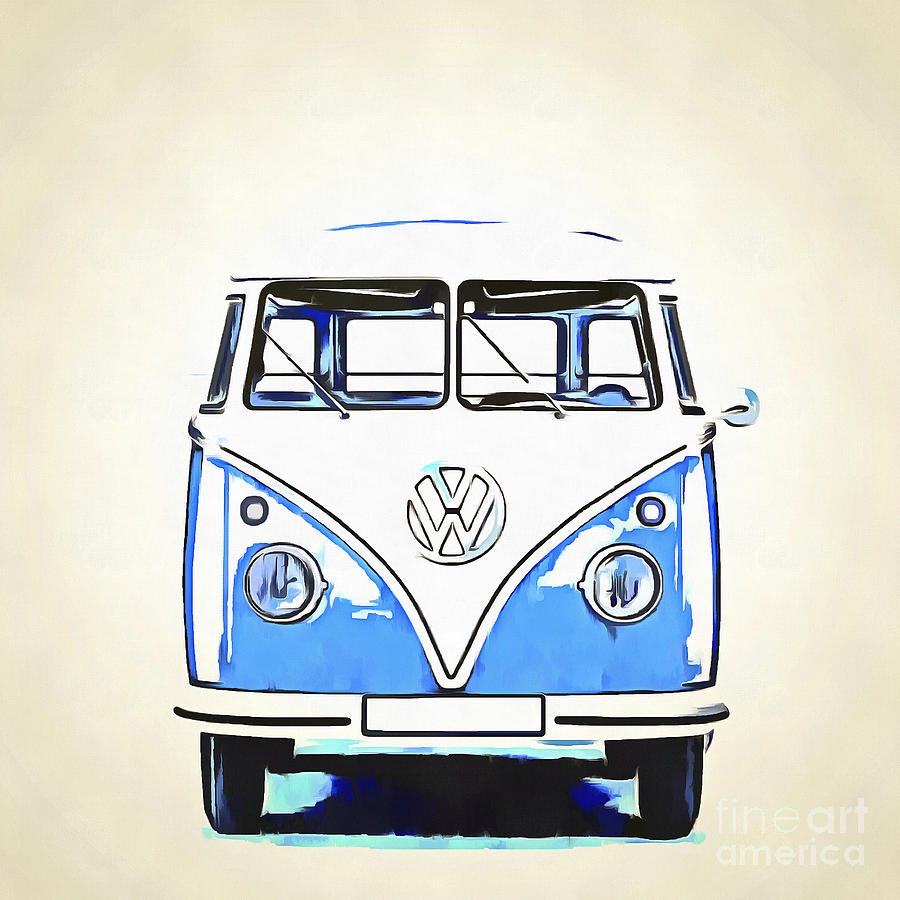 Vw Van Paintings