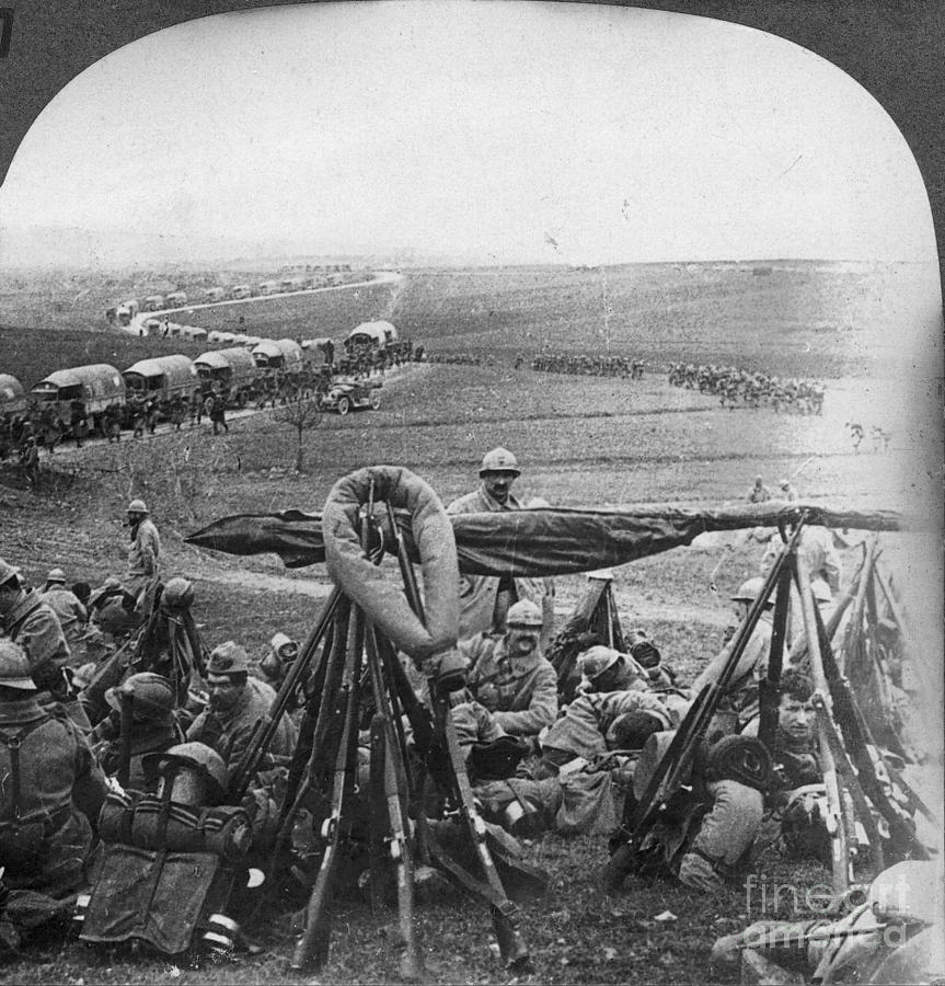 1916 Photograph - W W I: Battle Of Verdun by Granger