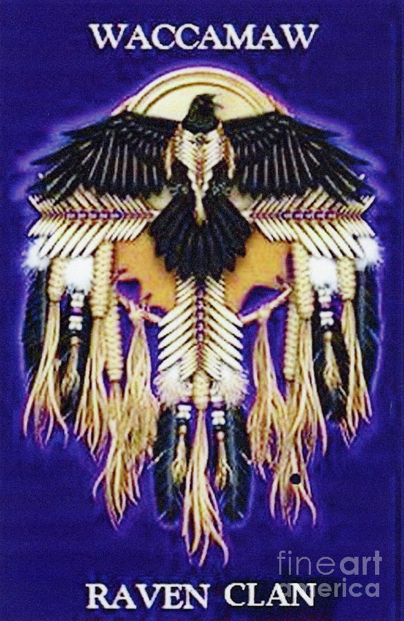 Waccamaw Raven Clan Crest by Stefan Duncan