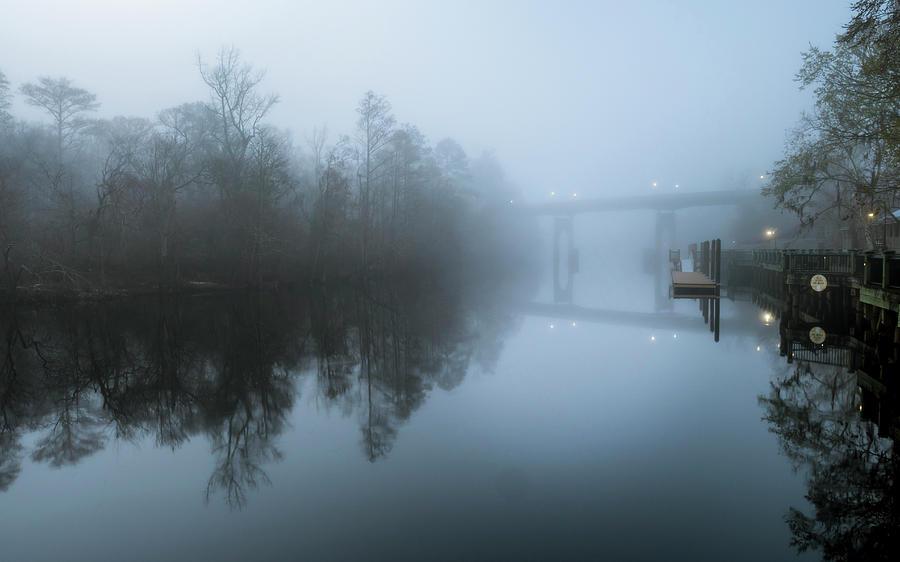 Waccamaw River Winter #1 by Van Sutherland