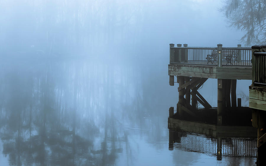 Waccamaw River Winter #2 by Van Sutherland