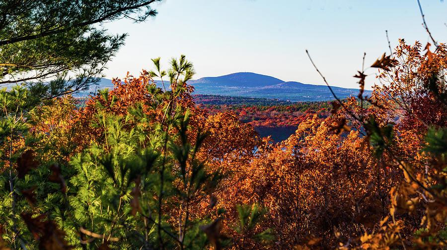 Wachusett in Fall by Robert McKay Jones