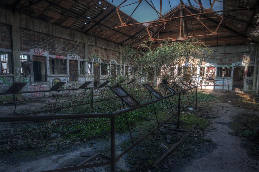 Urbex Digital Art - Wadges Pick Up by Nathan Wright