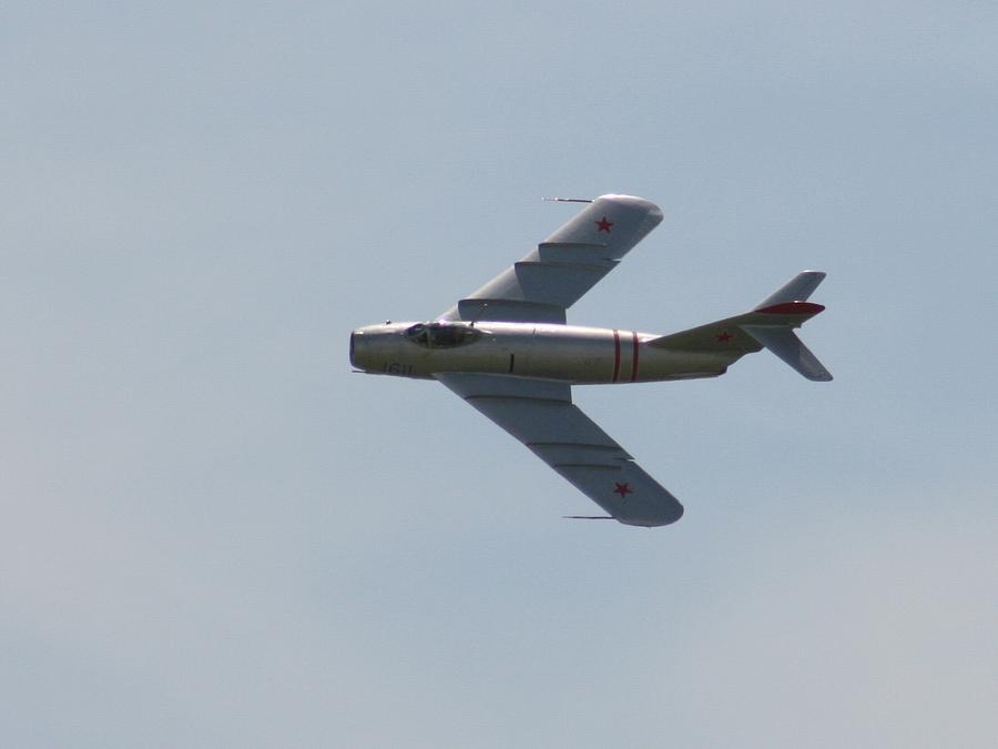 Airplane Photograph - Wafb 09 Mig 17 Russian 1 by David Dunham