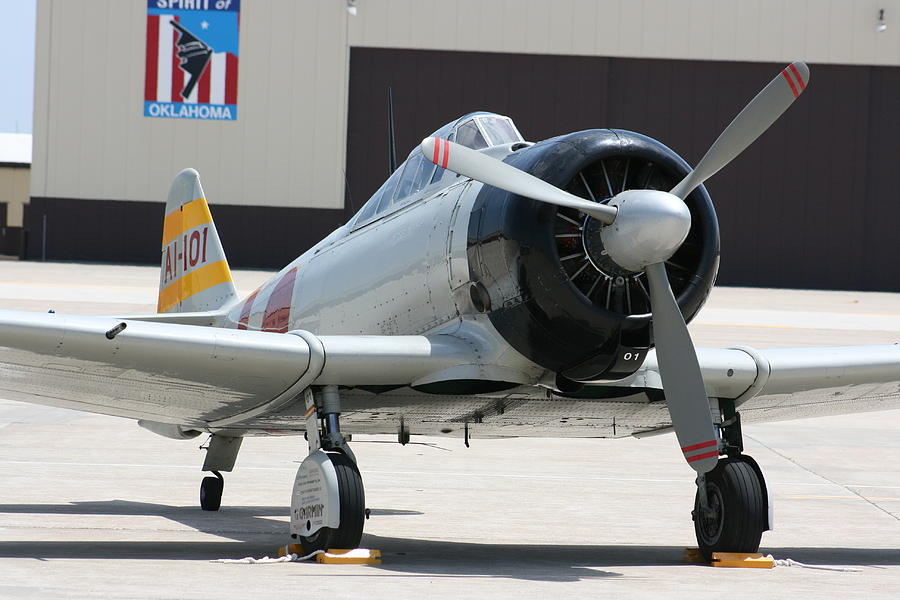 Airplane Photograph - Wafb 09 T-6 Tora 101 Zero 7 by David Dunham