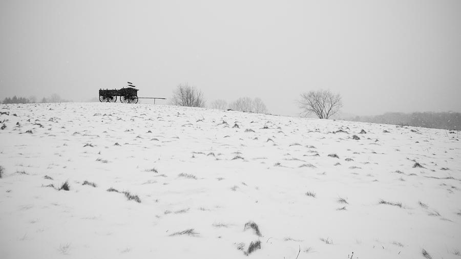 Wagon Photograph - Wagon Hill by Edward Myers
