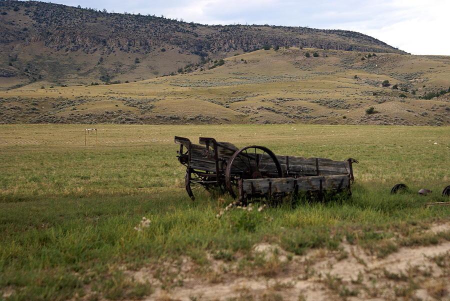 Ranch Photograph - Wagon Ho by Marty Koch
