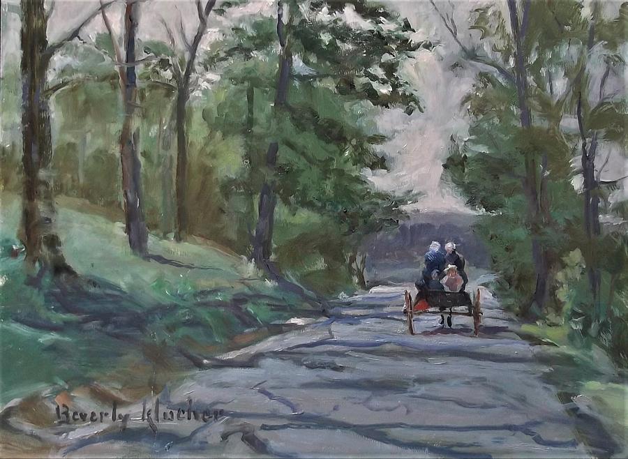 Wagon Ride by Beverly Klucher