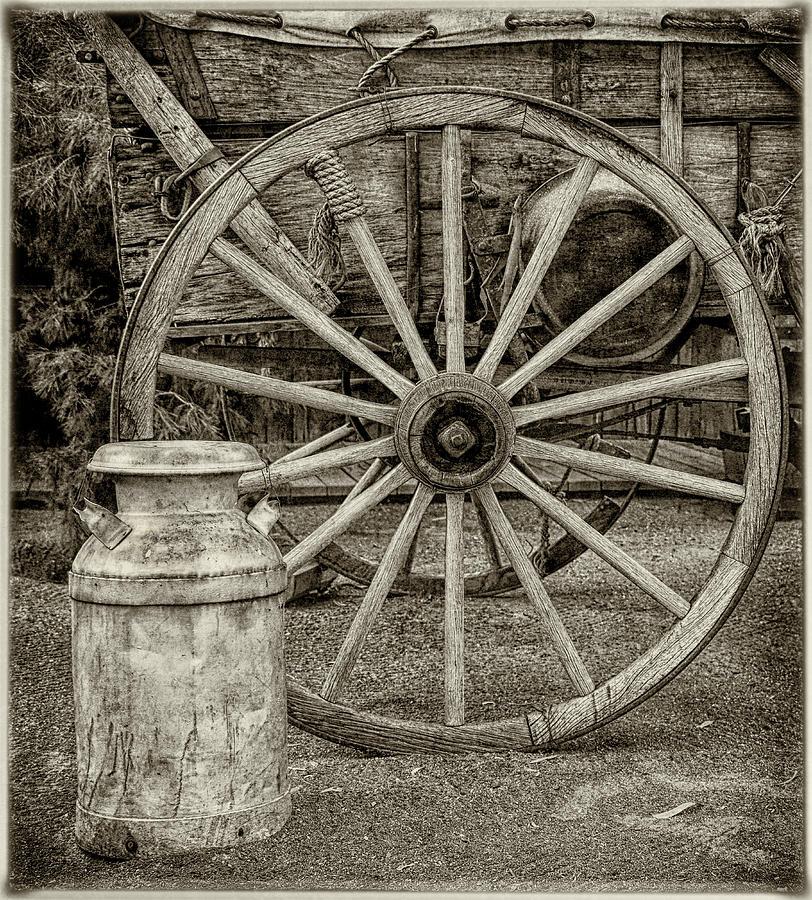 Wagon Wheels by ELAINE MALOTT