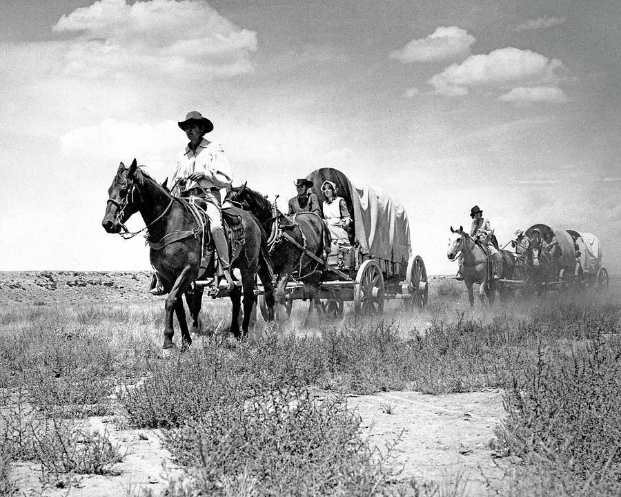 Arizona Photograph - Wagons Westward 1 by Bob Bradshaw