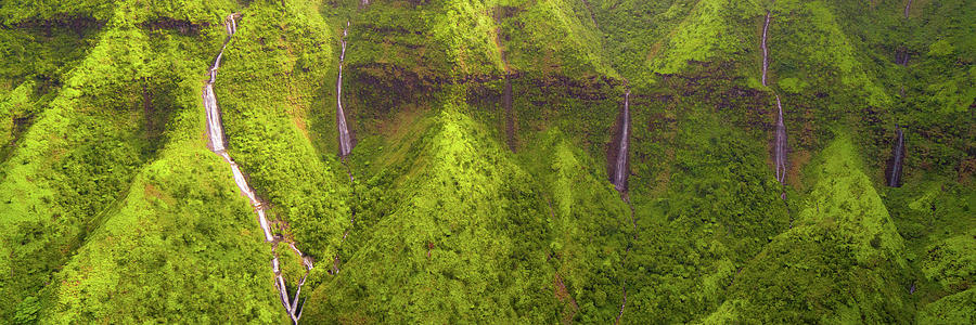 Waialeale Waterfalls by Ryan Moyer