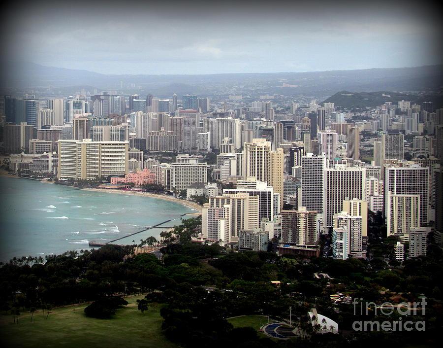 Waikiki Photograph - Waikiki by Joy Patzner