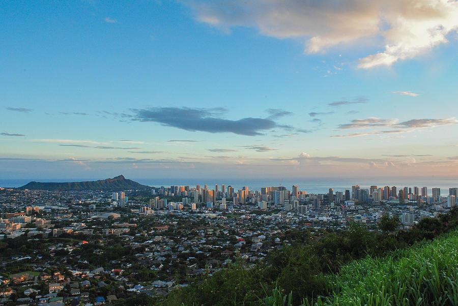 Waikiki Sunset Photograph