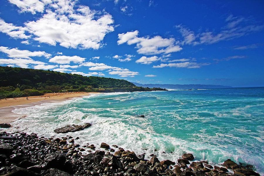 North Shore Photograph - Waimea Bay by Ty Helbach