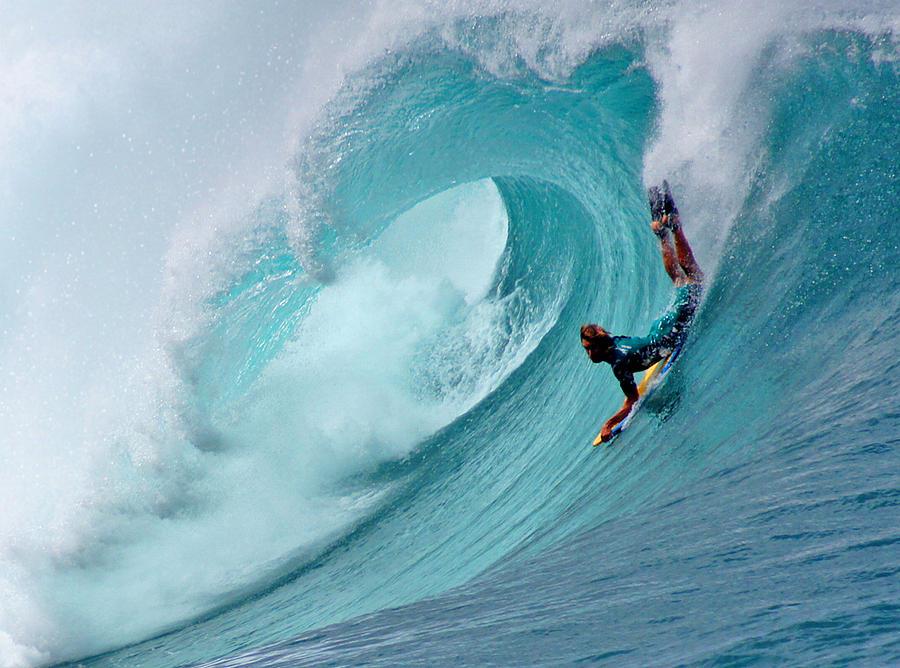 Hawaii Photograph - Waimea Bodyboarder by Kevin Smith