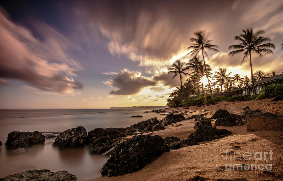 Wainiha Kauai Hawaii Sunrise  by Dustin K Ryan