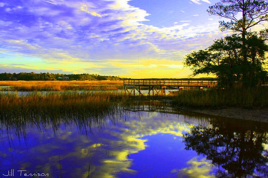 Seascape Photograph - Wait For Me by Jill Tennison