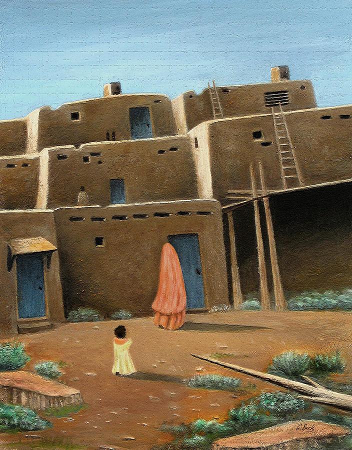 Southwest Painting - Wait Up by Gordon Beck