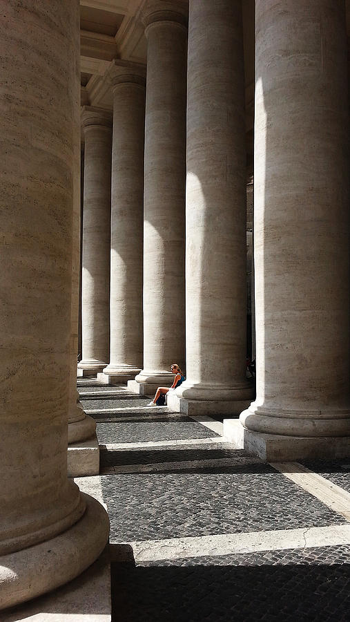 Waiting at St Peter's by Julian Perry