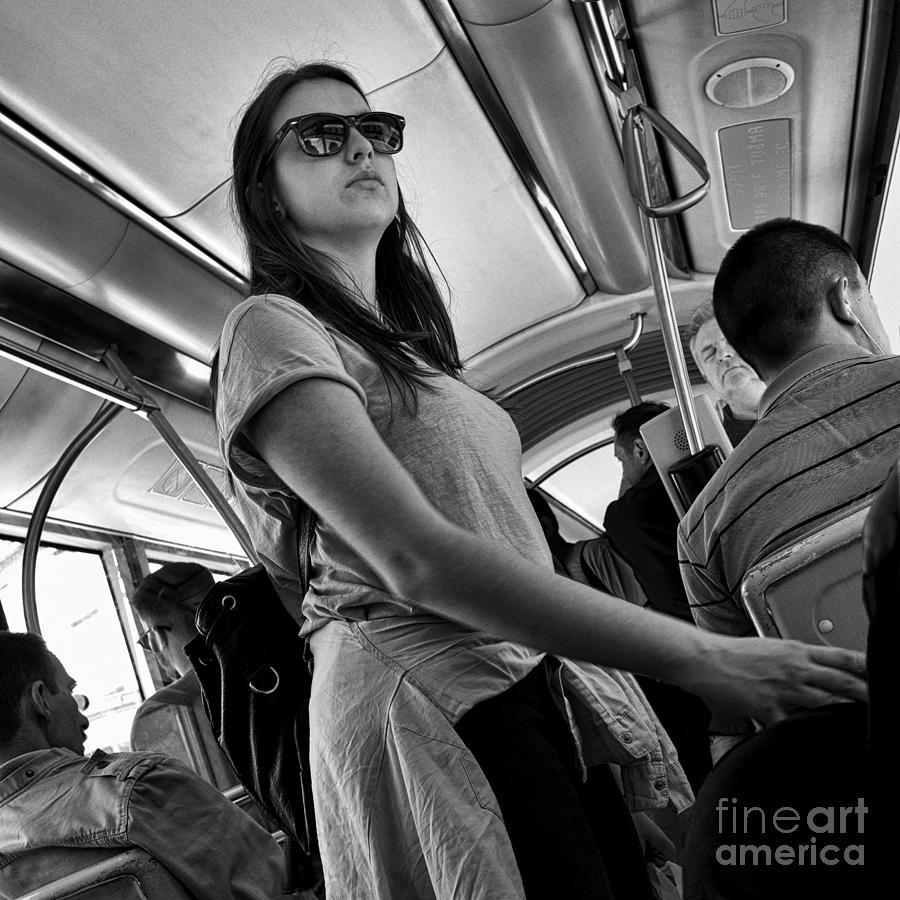 Street photography photograph waiting for a hero by norman gabitzsch