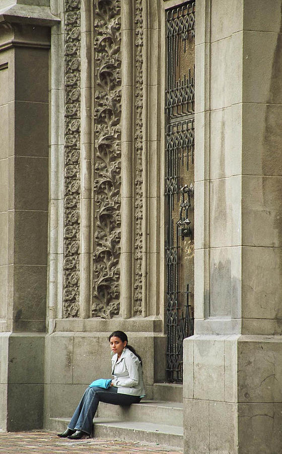 Church Photograph - Waiting For God by Kathy McClure