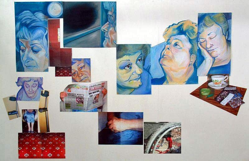 Waiting For Life To Begin Again Mixed Media by Davinia Hart