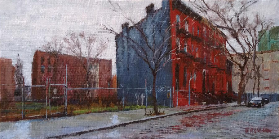 New York Painting - Waiting For Spring No. 2 by Peter Salwen