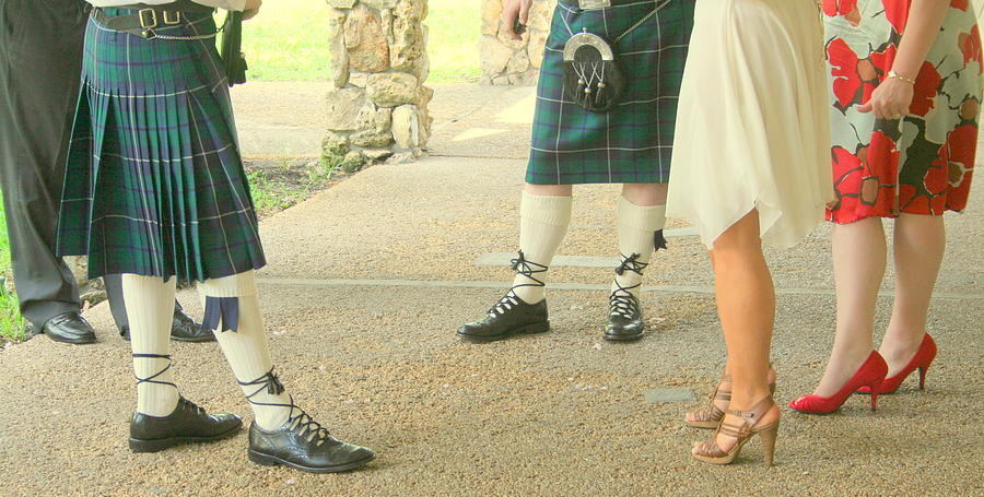 Shoes Photograph - Waiting For The Bride by Susan Hawk