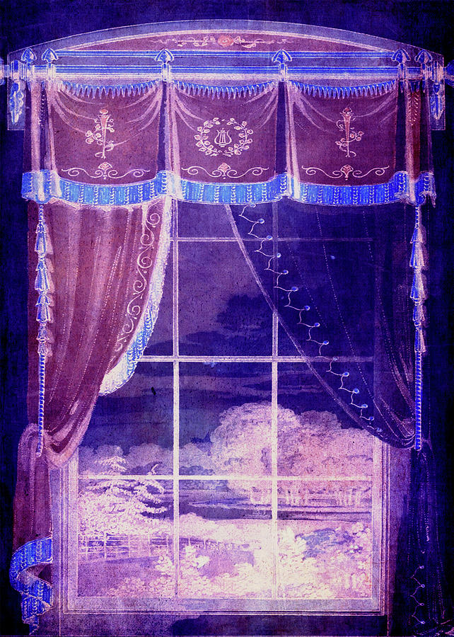 Window Digital Art - Waiting For The Dawn by Sarah Vernon