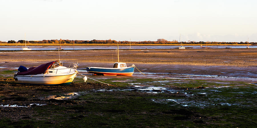 Emsworth Photograph - Waiting For The Tide by Trevor Wintle