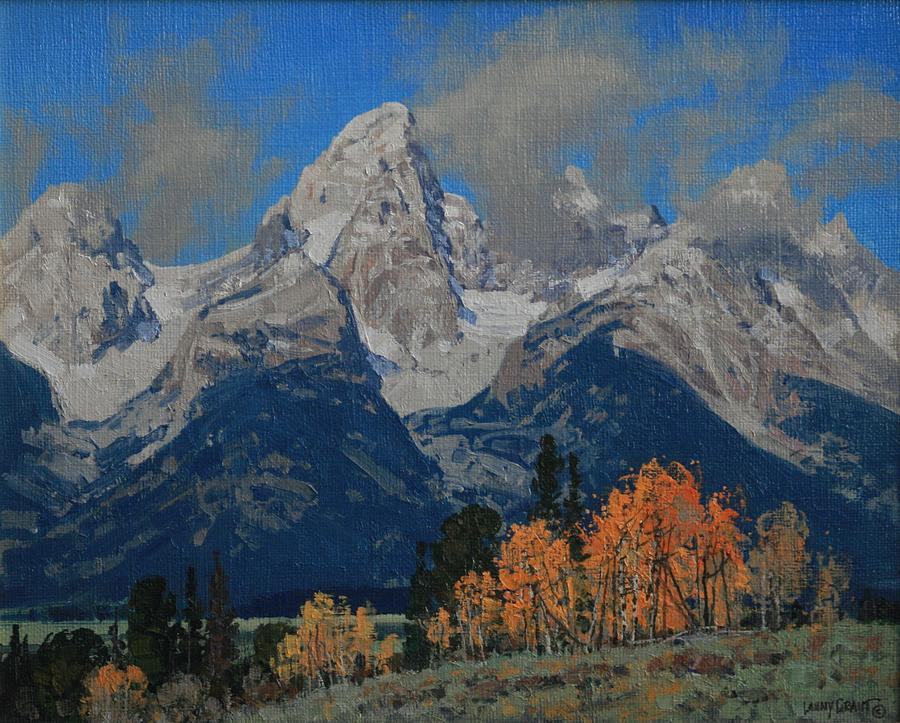 Landscape Painting - Waiting For Winter by Lanny Grant