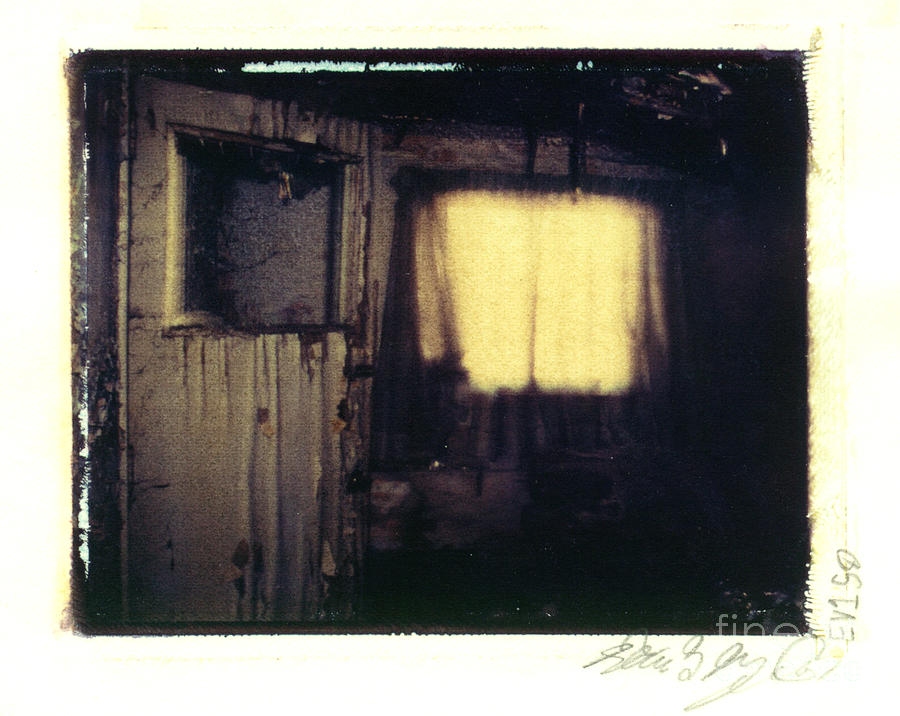Polaroid Photograph - Waiting For You... by Steven  Godfrey
