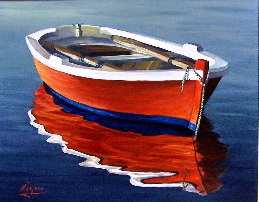 Waiting Painting By Natalia Tejera
