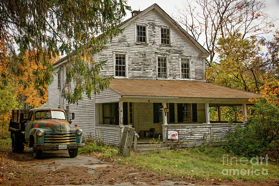Farm Photograph - Waiting On A Second Chance by Diana Nault