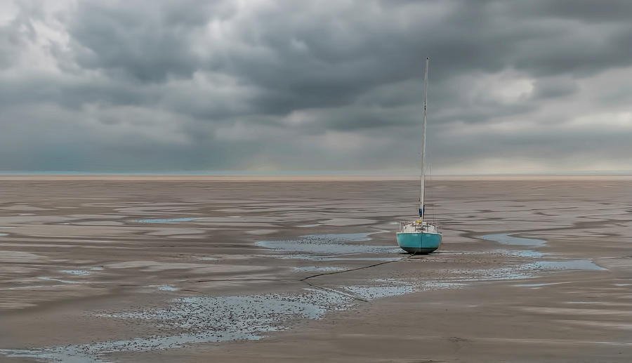 Boat Photograph - Waiting by Sue Doyle