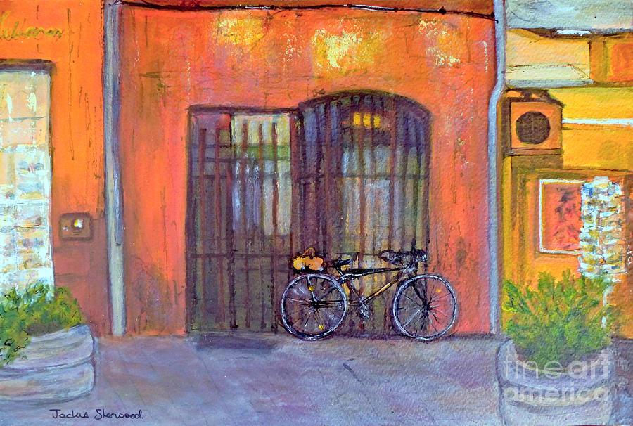 Waiting - Sur la Sorgue - Provence by Jackie Sherwood