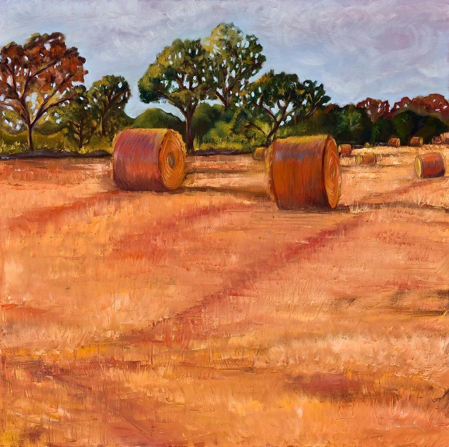 Landscape Painting - Waiting To Be Picked Up by Sheri Gundry